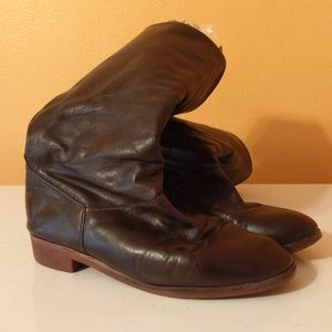 Roots Women's Leather Calf Boots Vintage